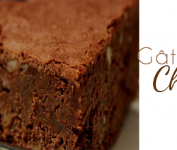 Gâteau facile au chocolat et amandes