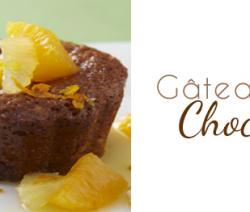 recette gâteau au chocolat et citron