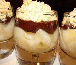 recette verrine crumble chocolat