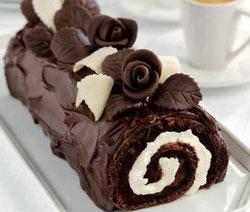 bûche facile au chocolat