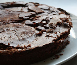 gâteau au chocolat facile et rapide Pierre hermé