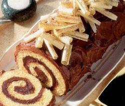 Recette de buche de noel au chocolat facile - Buche de noel facile et originale ...