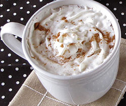 recette chocolat chaud au nutella et chantilly facile