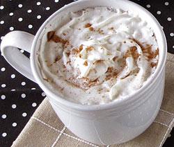 recette chocolat chaud au nutella et chantilly facile