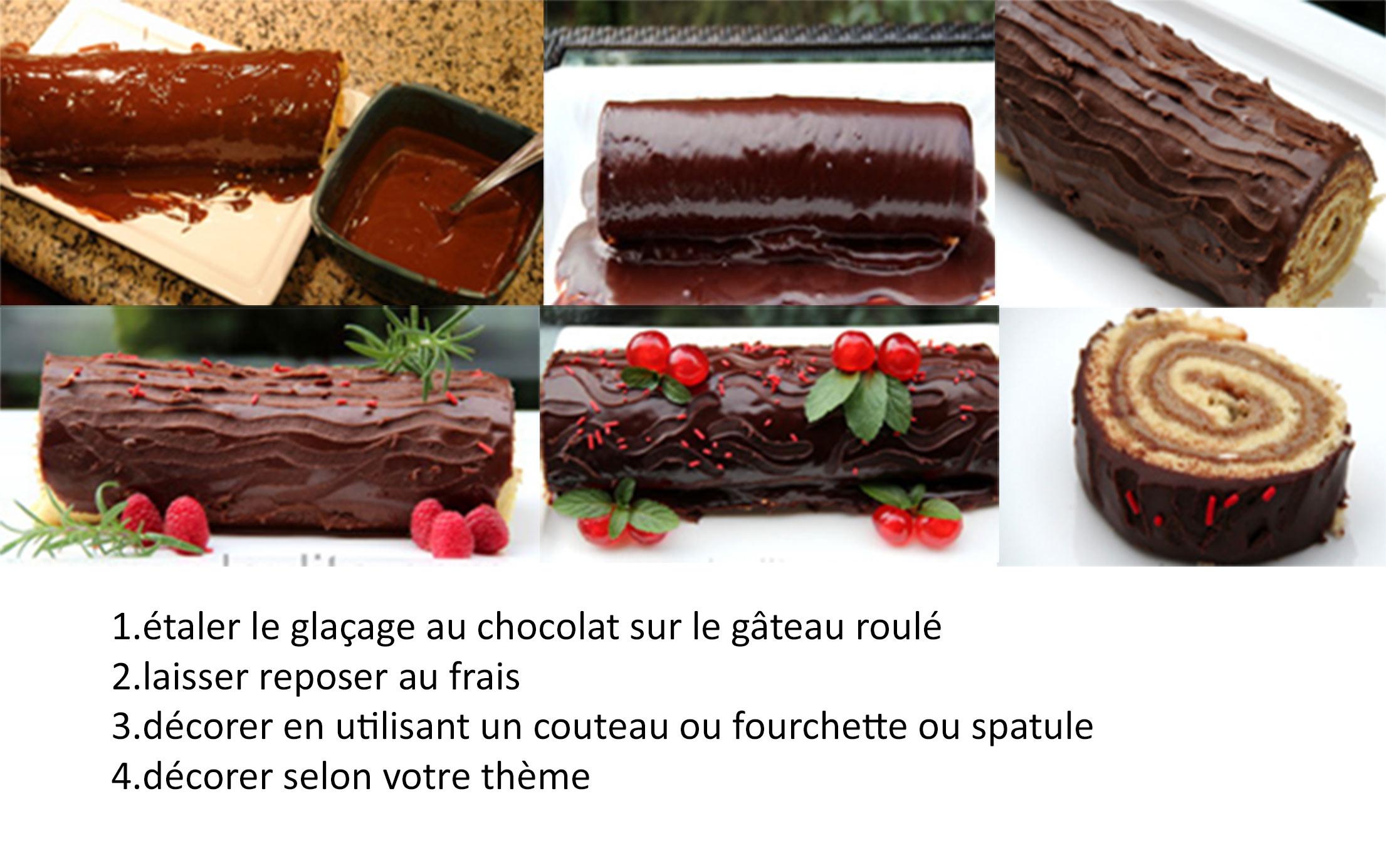 Decoration De Noel Pour Tarte Au Chocolat