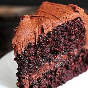 gâteau au chocolat très spécial