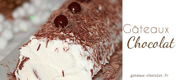 recette roule au chocolat de cyril lignac