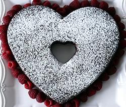 recette brownies en forme de coeurs