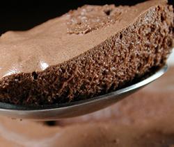 mousse au chocolat façon michalak