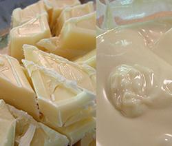 glaçage au chocolat blanc