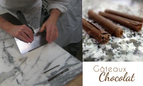 décors chocolat cigarette