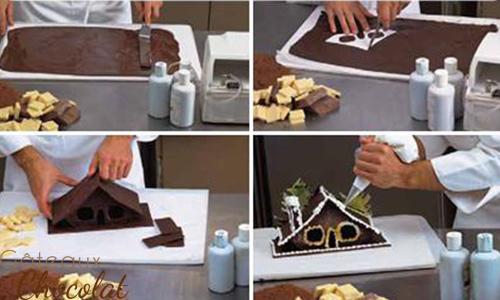 maison chocolat décoration