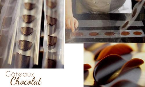 tuiles en chocolat technique