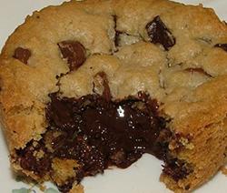 recette fondant coulant cookies aux pépites de chocolat