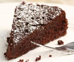 gâteau fondant au chocolat au lait