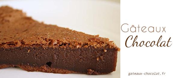 Recette gateau au chocolat 2 oeufs