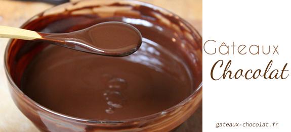 Gla age au chocolat facile la cr me fra che - Glacage pour eclair au chocolat ...