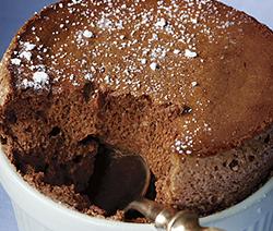 Appareil soufflé au chocolat Cyril lignac