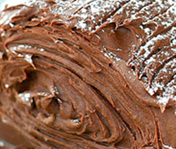 buche facile aux marrons et chocolat