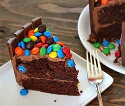 recette gâteau d'anniversaire pour enfants kit kat