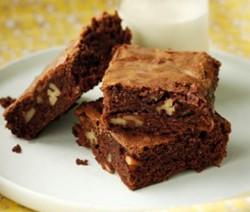 brownies moelleux de Julie andrieu