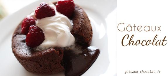 Fondant facile au chocolat de Cyril Lignac