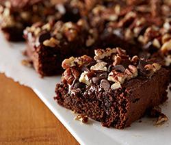 recette brownies au chocolat noir de Philippe conctini