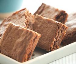brownies rapide au chocolat et cannelle