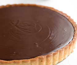 recette tarte fondante chocolat banane