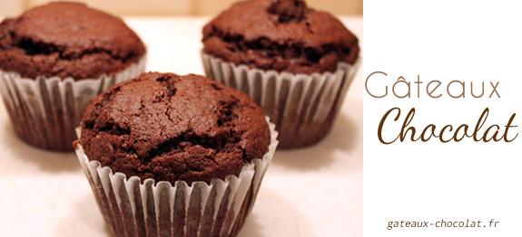Recette facile de Muffins au chocolat façon Cyril Lignac