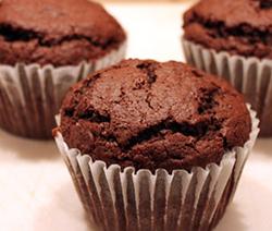 Muffins au chocolat facile