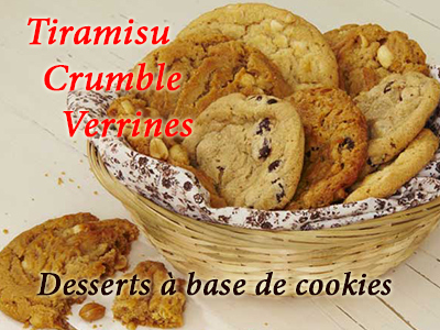 Le cookies en dessert