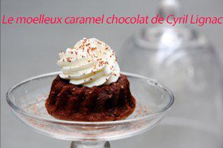 photo de gâteau de cyril lignac