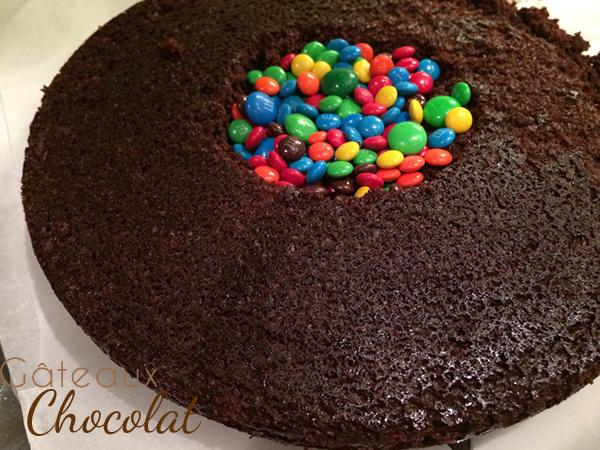 gâteau chocolat surprise