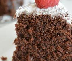 gâteau léger sans sucre et sans beurre