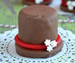 chapeau chocolat chamallows