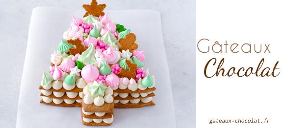 Number cake Cyril lignac :Sapin de Noel ganache montée chocolat